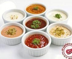 salsa de yogurt Kebab - Receta original de myTaste Mexican Food Recipes, Vegan Recipes, Cooking Recipes, Ethnic Recipes, Vegan Sauces, Chutney, Crab Cake Sauce, Salada Light, Antipasto