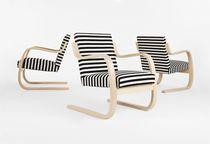 Fauteuil contemporain / design Scandinave / par Alvar Aalto / luge