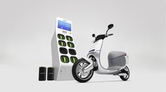 Gogoro Plans Scooters, Battery-Swap Kiosks for Cities | Re/code