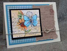 Casual Vintage  ... Stampin Up - Garden Collage