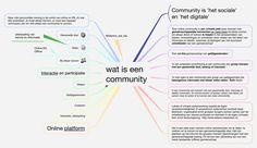 Omschrijvende statements van wat een community is