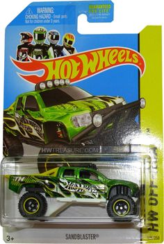 is part of the HW Off Road series and the 2014 Super Treasure Hunt set. The truck has green Spectraflame paint embellished with black graphics, yellow stripes, and white & yellow flames… Festa Hot Wheels, Hot Wheels Cars, Carros Hot Wheels, Motocross Videos, Red And Black Background, Lego Baby, Toy Model Cars, Super Treasure Hunt, Bike Poster