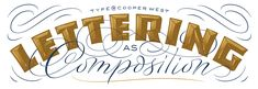 Type@Cooper - Lettering as Composition