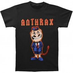 Tricou Anthrax: TNT Cover Band Merch, Metalhead, Large Black, Hoodies, Cover, Mens Tops, Cotton, T Shirt, Fictional Characters