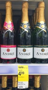 Walgreens: $1.99 Andre Champagne after sale and three overlapping cashback offers! - http://www.couponaholic.net/2015/09/walgreens-1-99-andre-champagne-after-sale-and-three-overlapping-cashback-offers/