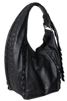 Black Calfskin & Crocodile Trim bag. Named Black Swan from Swan inspiration