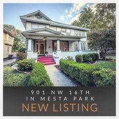Hot New Listing from @urbanlivingokc! 901 NW 16th Street in @mestapark! #mestapark #newlisting #urbanlivingokc #historic #okc #okcrealestate #verbode