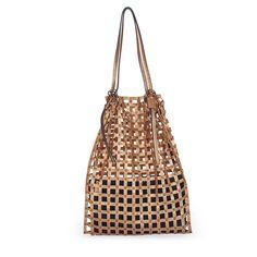 Caged Love Bag_Gold