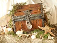Picture of IF I COULD I WOOD ( A faux treasure chest )
