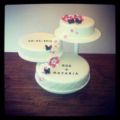Soporte para pastel de metal Soporte para cupcakes Bodas Propiedades de exhibici/ón Regalo de 25 cm perfecto para mostrar sus pasteles y postres favoritos en cualquier boda fiesta de cumplea/ños