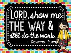FREE!  DEANNA JUMP INSPIRATIONAL QUOTE