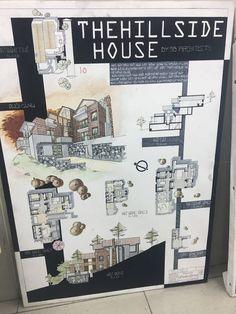 36 Ideas Design Presentation Sheets Architecture For 2020 Sketchbook Architecture, Poster Architecture, Model Architecture, Concept Board Architecture, Interior Architecture Drawing, Architecture Presentation Board, Architectural Presentation, Architecture Diagrams, Architectural Models