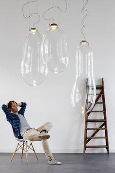 De magische Big Bubble lamp van Alex de Witte