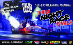 Kiihdytysajon SM-finaali, FHRA Night Race Finals - liput - Kauhavan Lentokenttä, Kauhava - 1.9.2018 - Tiketti Events