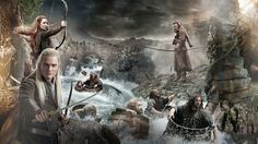 People 1920x1080 The Hobbit movies Legolas Orlando Bloom Evangeline Lilly Tauriel The Hobbit: The Desolation of Smaug dwarfs