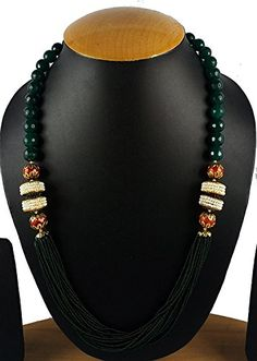 Beaded Jewellery, Beaded Necklace, Necklaces, Wedding Jewelry Sets, Indian Bollywood, Pearl Beads, Ethnic, Traditional, Pearls