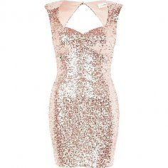 Sparkly Open Back Gold Homecoming Dresses 2013 - Dress - Urban: Short Prom Dress by LoveBeauty