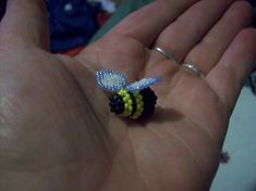 3d Beaded Bumblebee by screaminmimi79.deviantart.com on @deviantART