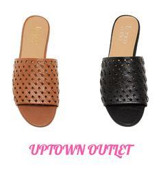 6199eb52e302 NWOB Franco Sarto Giver Slide Mule Sandal F0525M1 BLACK TAN MULTI SIZES