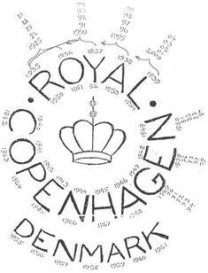 Porcelain marks Royal Copenhagen porcelain and Bing & Grondahl Danish Denmark information