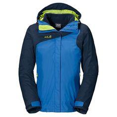 Jack Wolfskin Cool Wave Texapore Jacket - Waterproof, 3-in-1 (For Women)