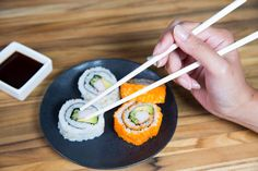 How to Use Chopsticks Correctly, so You Never Drop Sushi Again
