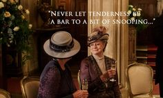 From breaking news and entertainment to sports and politics, get the full story with all the live commentary. Downton Abbey Season 6, Lady Violet, Julian Fellowes, Christmas Episodes, Maggie Smith, Wit And Wisdom, Still Standing, Sports And Politics, Growing Up