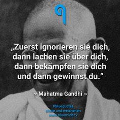 Die 10 besten Zitate von Mahatma Gandhi - bluemind.tv