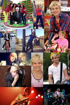 Collage Of Ross Lynch❤️
