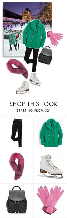 """""""Untitled #765"""" by krahmmm ❤ liked on Polyvore featuring Seok, J.Crew, Andrew Marc, rag & bone and Gizelle Renee"""