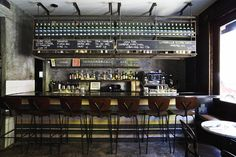 Evening in the East Village: Flinders Lane, Amor y Amargo, Death + Co & Mayahuel New York Restaurants, Restaurant New York, Restaurant Design, American Diner, Brunch Spots, East Village, Industrial Interiors, Small Plates, Retail Design