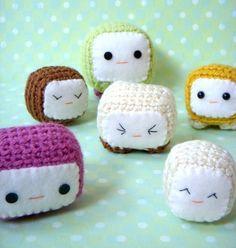 $3.50 Tofu Baby Crochet Pattern