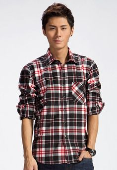 Check Shirt C12 | www.changingrm.com/men-with-charm/201-check-shirt-c12.html