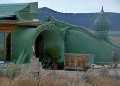 Earthship home- I want to live here!