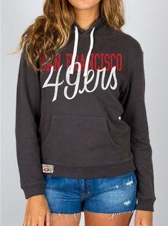 Junk Food Clothing - NFL San Francisco 49ers Pullover Hoodie