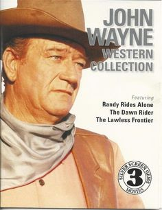 JOHN WAYNE AMERICAN CLASSIC WESTERNS SILVER SCREEN GEMS CLASSIC MOVIES DVD