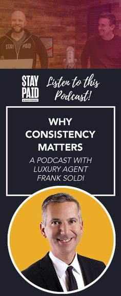 This Stay Paid podcast episode is for sales professionals and marketers who want solid proof that consistent, omnipresent marketing delivers a substantial ROI. relationship marketing ideas - real estate marketing - luxury real estate - realtor marketing - real estate tips - realtor tips Real Estate Tips, Luxury Real Estate, Relationship Marketing, Business Professional, Marketing Ideas, Consistency, Real Estate Marketing