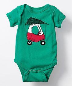 Kelly Green Toy Car