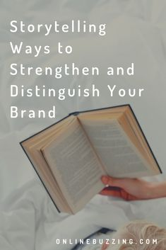 Storytelling - 5 Ways to Strengthen and Distinguish Your Brand Digital Storytelling, 5 Ways, Creativity, Social Media, Social Networks