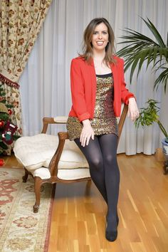 This fashion post features my 3 favorite holiday party outfits. Stockings Outfit, Pantyhose Outfits, Black Pantyhose, Tights Outfit, Black Tights, Nylons, Holiday Party Outfit, Holiday Outfits, Party Outfits