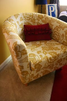 How to Recover Tullsta chairs