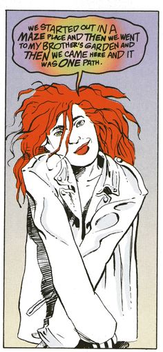 """Delirium, from """"Sandman"""", a Neil Gaiman character inspired by Tori Amos."""