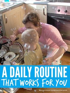 How to establish an easy daily housework and cleaning routine that actually works for you ...