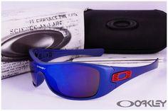 Oakley Pas Cher Antix lunettes de soleil noir mat
