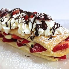 Strawberry Napoleon - From Calculu∫ to Cupcake∫