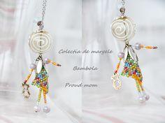 Bambola Proud mom by Colectia de margele  Please visit https://www.facebook.com/pages/Colectia-de-margele/1392796917646011