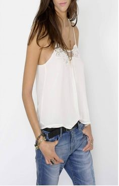 Top Gat Rimon West écru - Tops & Chemises - Vêtements   Allison Shop