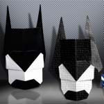 Easy Origami Batman Mask by Barth Dunkan  Easy Origami Batman Mask by Barth Dunkan Folder and Photo: @OrigamiKids In this photo tutorial I will show you how to make an easy Origami Batman Mask designed by Barth Dunkan. Complexity: Easy. Time to fold 10 min. Folded from  Continue reading   The post Easy Origami Batman Mask by Barth Dunkan appeared first on Origami Blog.