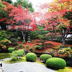 Pictures Gozasho-teien ; its a garden of Sennyu-ji Temple, -