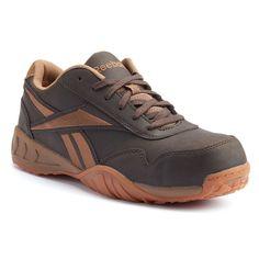 Reebok Work Bema Men's Composite-Toe Shoes, Size: medium (7), Brown